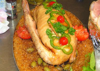 Canard cuisiné