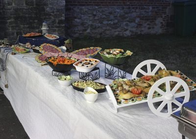 Buffet chaud et froid